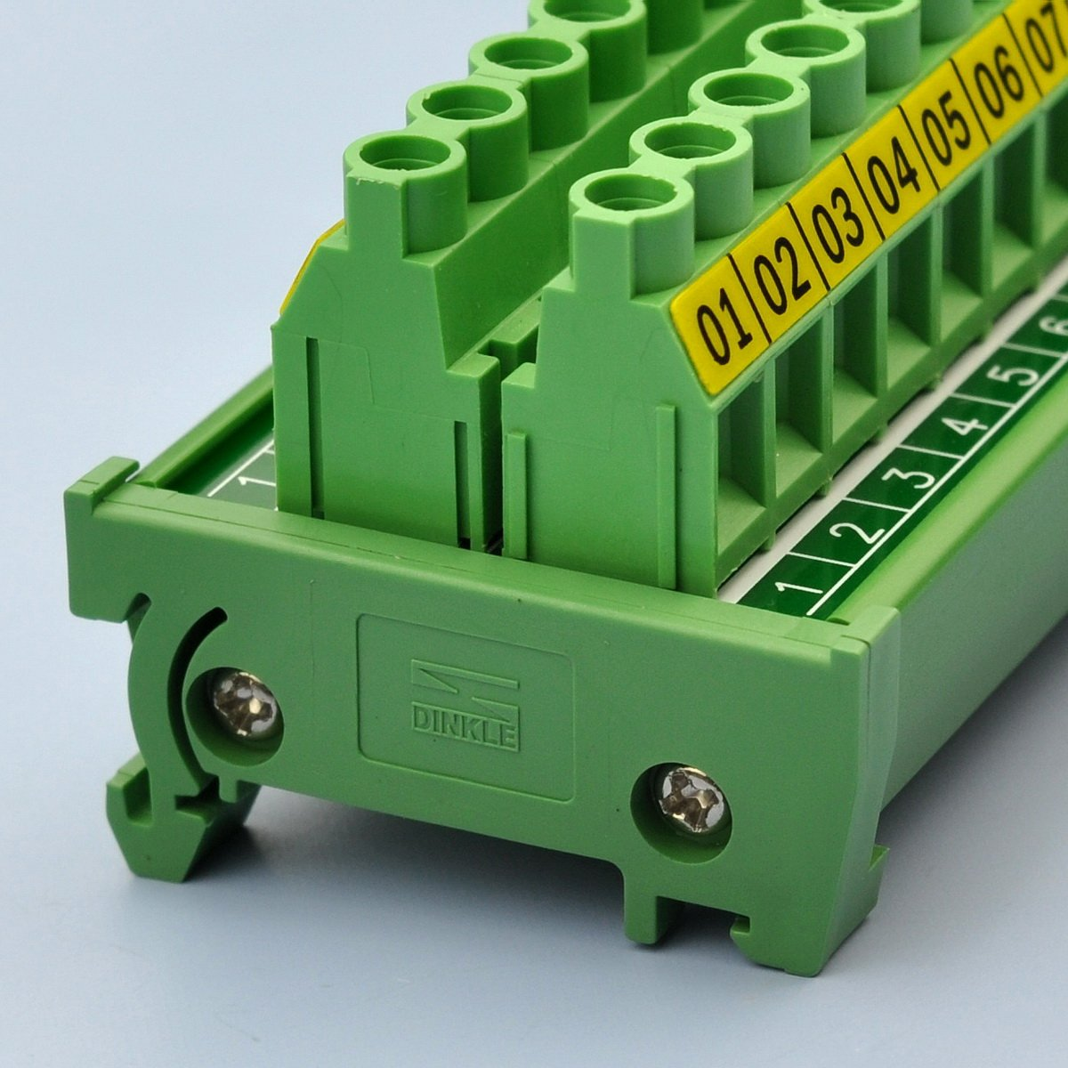 Electronics-salon Rail DIN 20/position 30/A//300/V bornier /à vis Distribution Module.