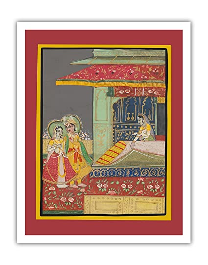 Amazon Com Pacifica Island Art India A Prince With His Beloved
