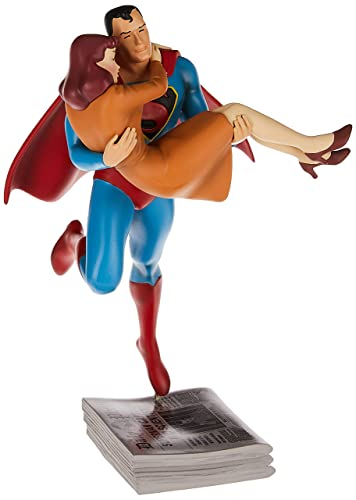 Cryptozoic Fleischer Studios Superman Rescuing Lois Lane Statue