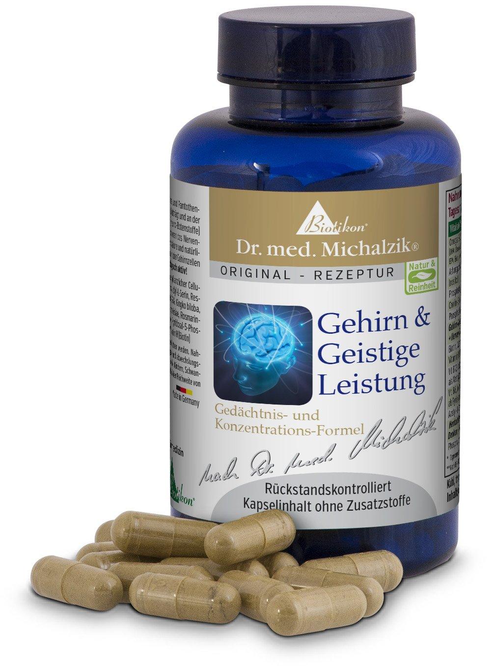 Cerebro y rendimiento mental del Dr. med. Michalzik: Amazon.es: Salud y cuidado personal