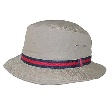 Scala Classico Rain Hat - Bucket Hat by Dorfman Pacific (British Tan ... 5d6dc153fb1