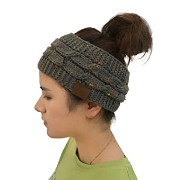 Amazoncom Women Winter Ear Warmers Headband Beanie Headband Skiing