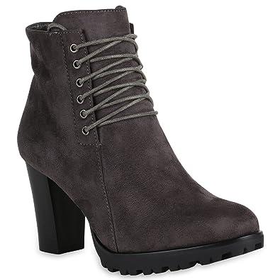 NEW STIEFELETTEN DESIGN DAMEN zapatos 147715 STIEFELETTEN NEW GRAU 37 b6b8eb