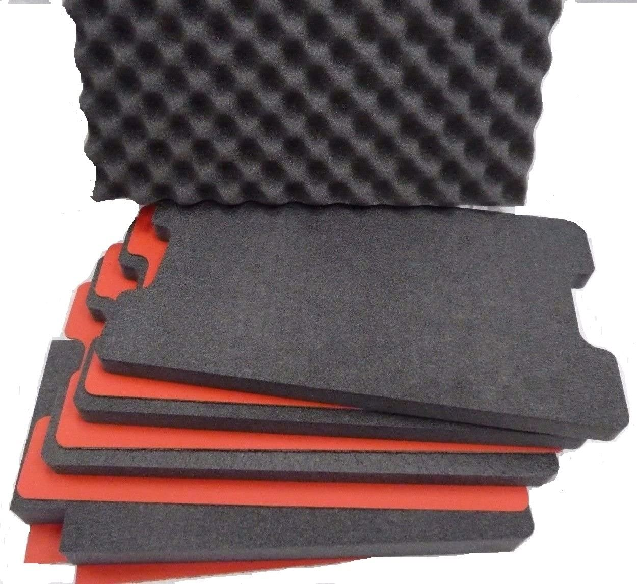 Custom Tool Control Foam Inserts ABS Plastic for Pelican 1510. Turn Your 1510 into a Custom Tool case.