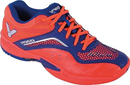 090afbe51d6cd Victor Zapatillas de Bádminton de Material Sintético para Hombre Rojo Rojo   Amazon.es  Zapatos y complementos