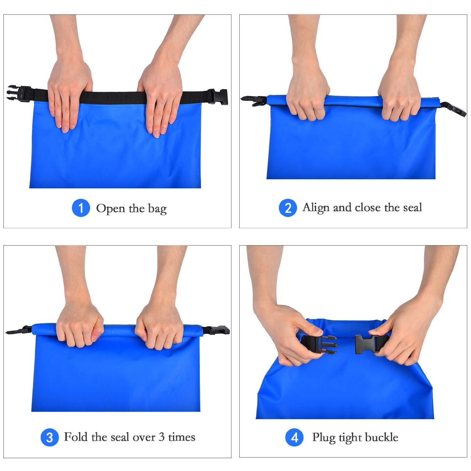 Biking Canoeing Fishing Outdoor Sports and Rafting Gold Coast gear Paddle boarding Hiking Best For Camping Dry Bag Roll Top Waterproof Sack Multiple Sizes /& Colors Includes Shoulder Strap Kayaking