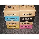 4色セット 純正 シャープ SHARP MX-23JTBA/MA/YA/CA トナー   適合機種:MX-2310F/MX-2311FN/MX-3111F/MX-3112FN