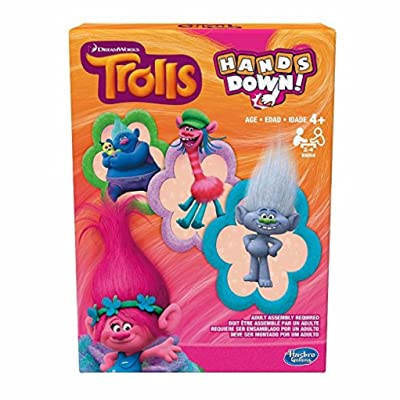 Trolls Hands Down Game: Toys & Games