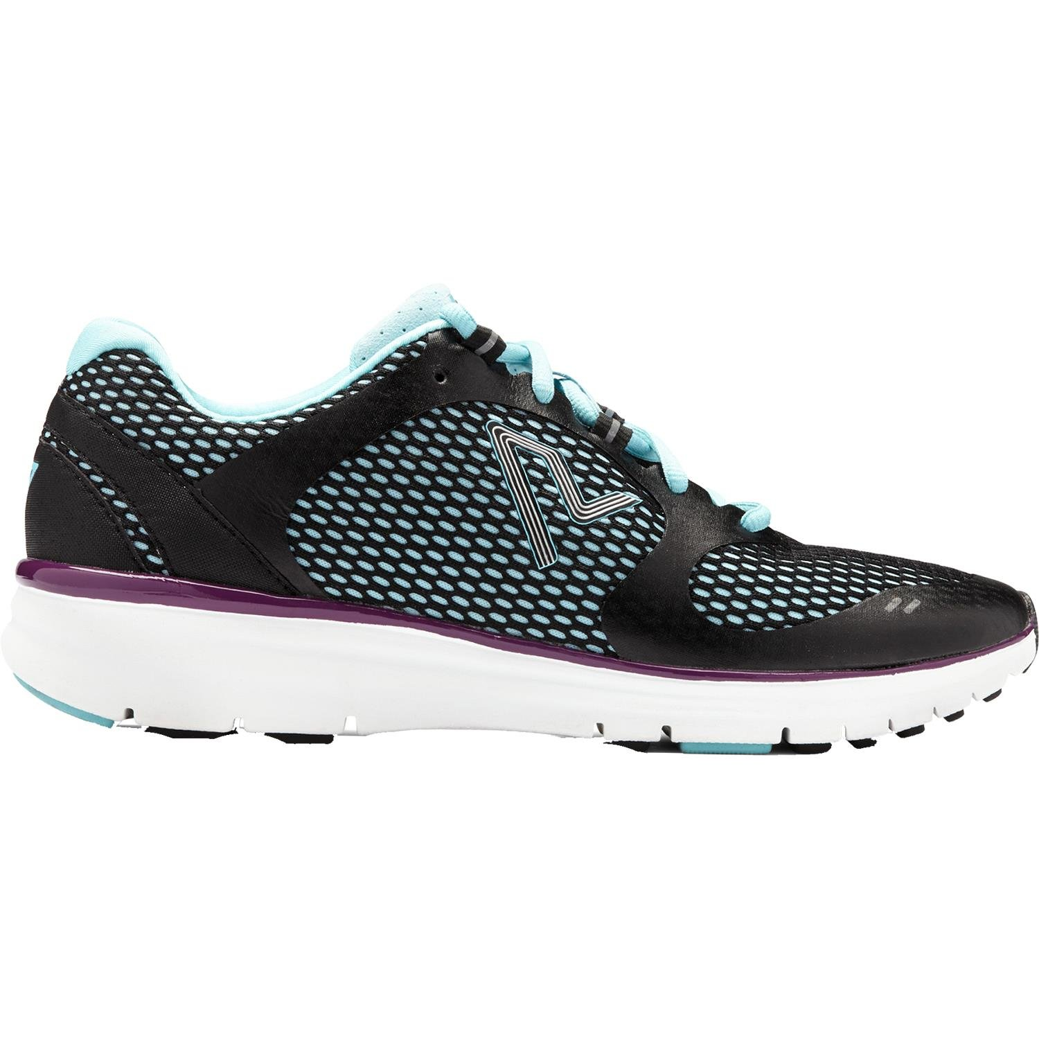 Vionic with Orthaheel Technology Women's Elation1 (10 B(M) US, Black/Teal)