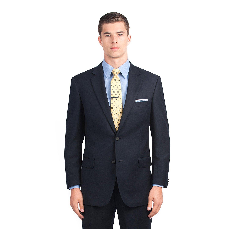 Combatant Gentlemen Men's Navy Blue Modern Fit Suit 46 Regular Blue