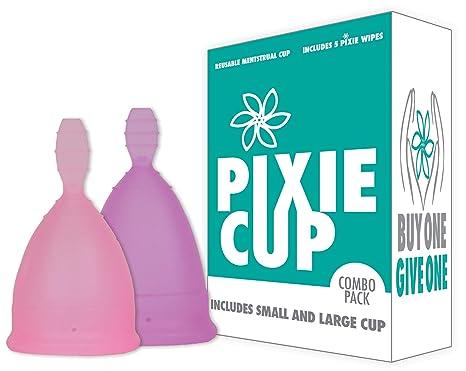 Pixie Cup Nº 1 para la mayoría de copas menstruales cómodo y mejor Stem Remoción resto de las marcas Cada copa menstrual de adquirirse uno se le da a una ...