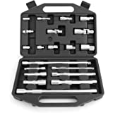 """HORUSDY 20-Piece Extension Bar Set, 1/4"""", 3/8"""" and 1/2"""" Drive Socket Extension Set"""