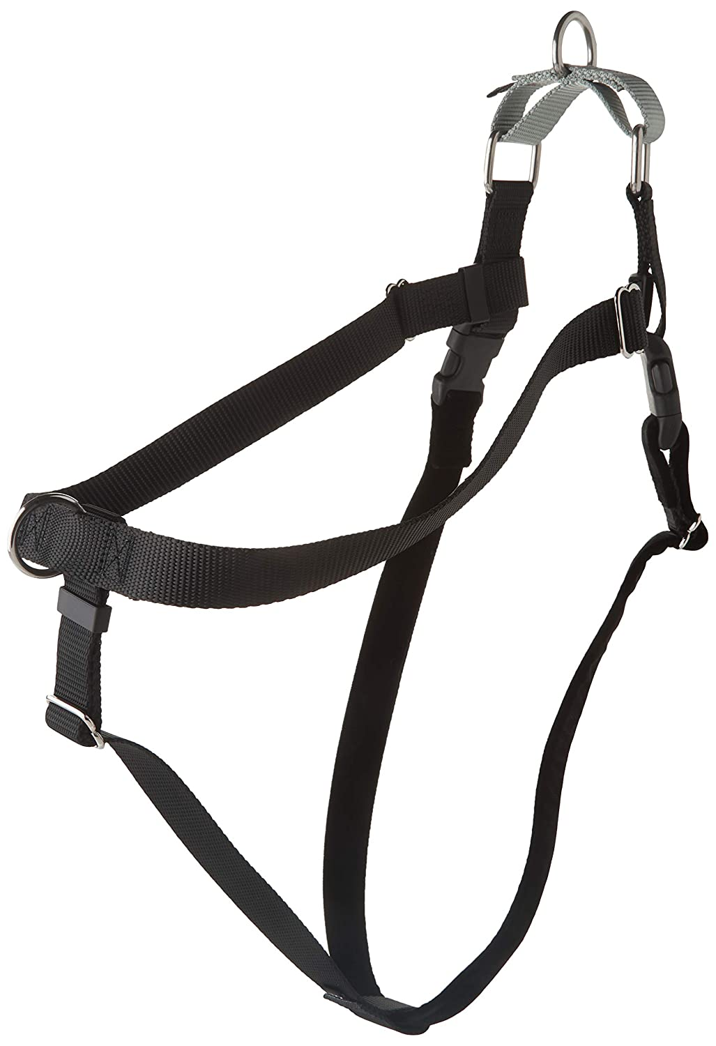 Black XX-Large Black XX-Large 2 Hounds Design HN XXL BK Freedom No-Pull Harness Only, (1  Wide), Black, XX-Large