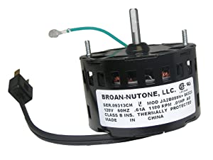 NuTone S86323000 Bathroom Fan Motor
