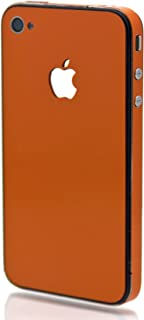 product image for Slickwraps Color Collection Protective Film for iPhone 4 & 4S - Orange