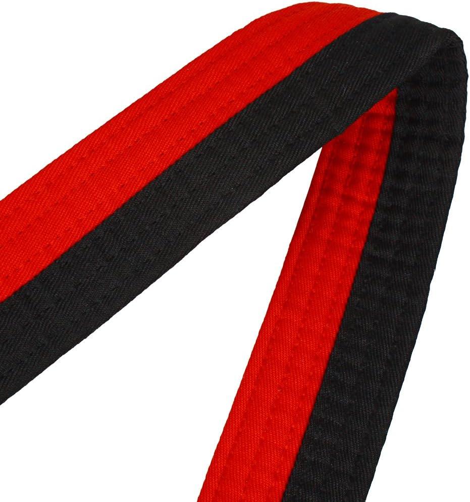 Andux Cintur/ón de Artes Marciales del Cintur/ón de Taekwondo TQDYD-01