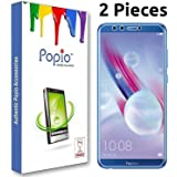 POPIO Tempered Glass Glass Screen Protector for Honor 9 Lite (Pack of 2)