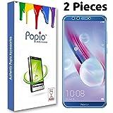 Popio® Honor 9 Lite Tempered Glass (Pack of 2)