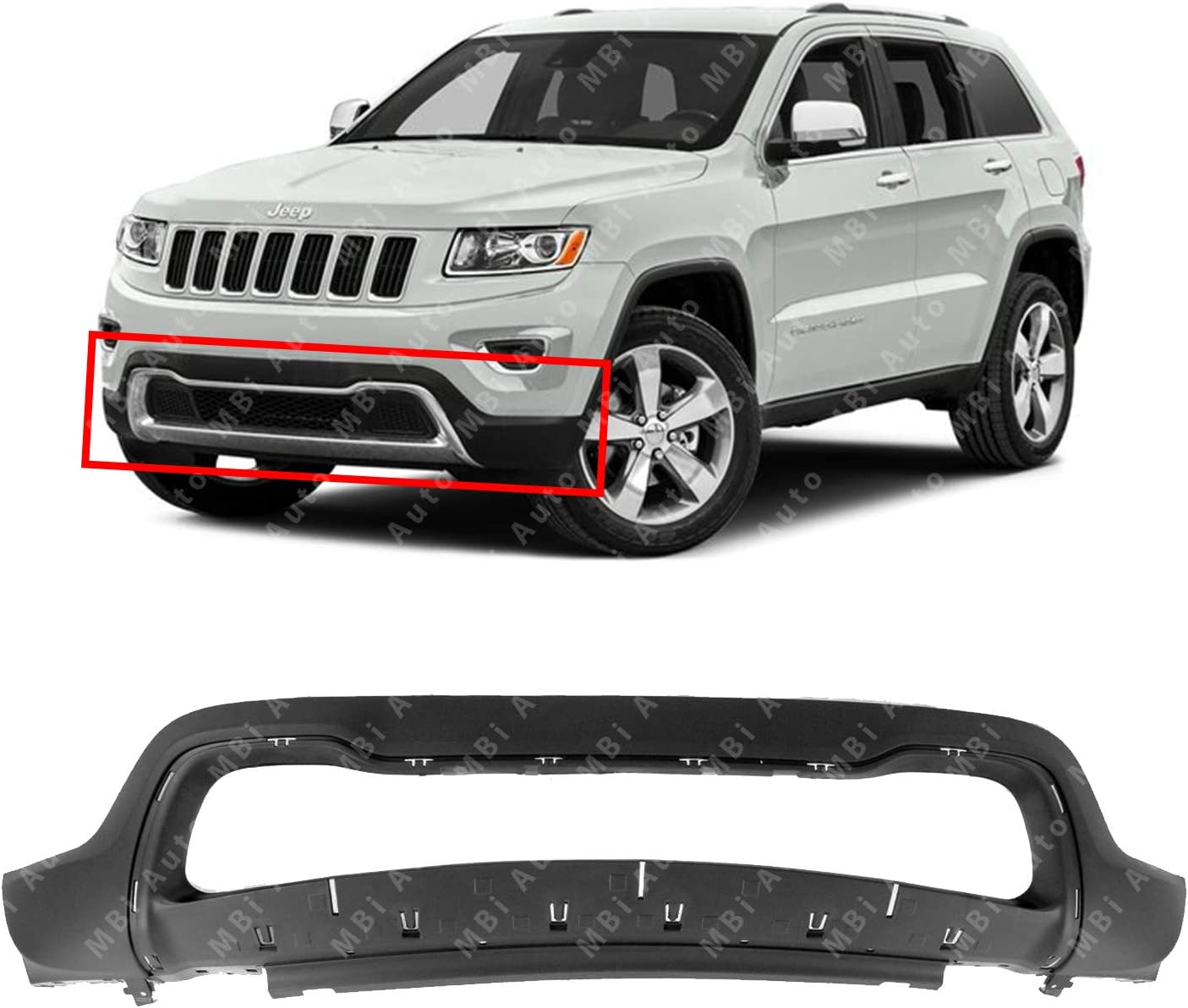 CH1070125 Front BUMPER ABSORBER for Jeep Grand Cherokee 55155505