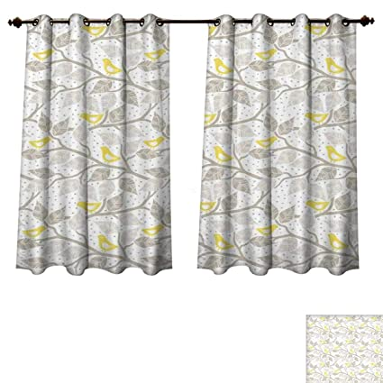 Amazoncom Rupperttextile Grey And Yellow Bedroom Thermal