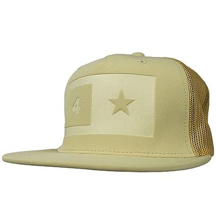 Fourstar Skate sombrero gorra de malla impresión Caqui