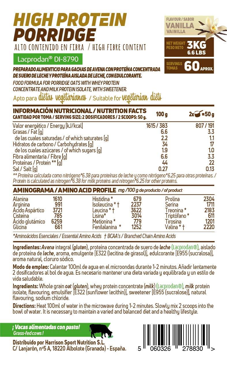 Gachas de Avena Proteicas de HSN Foods | Porridge Proteico ...