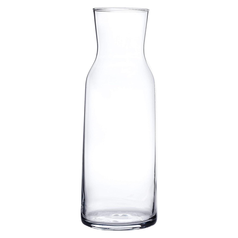 Calidad GASTRON/ÓMICA Capacidad 1,1/L Servir Bebidas Casi Todos los fr/ía de Elegante /Jarra de Cristal con Tapa de Corcho Bormioli/