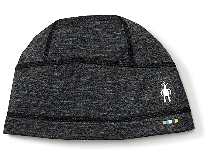 ea57ec9de16 Amazon.com  SmartWool PhD Ultra Light Beanie (Charcoal) 1FM  Sports    Outdoors
