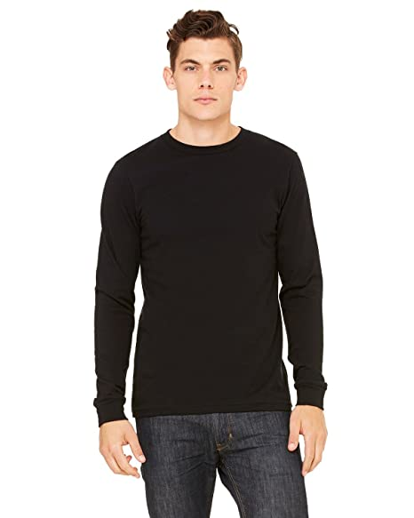 8a3741e4c Amazon.com: Bella + Canvas Men's Thermal Long-Sleeve T-Shirt: Clothing