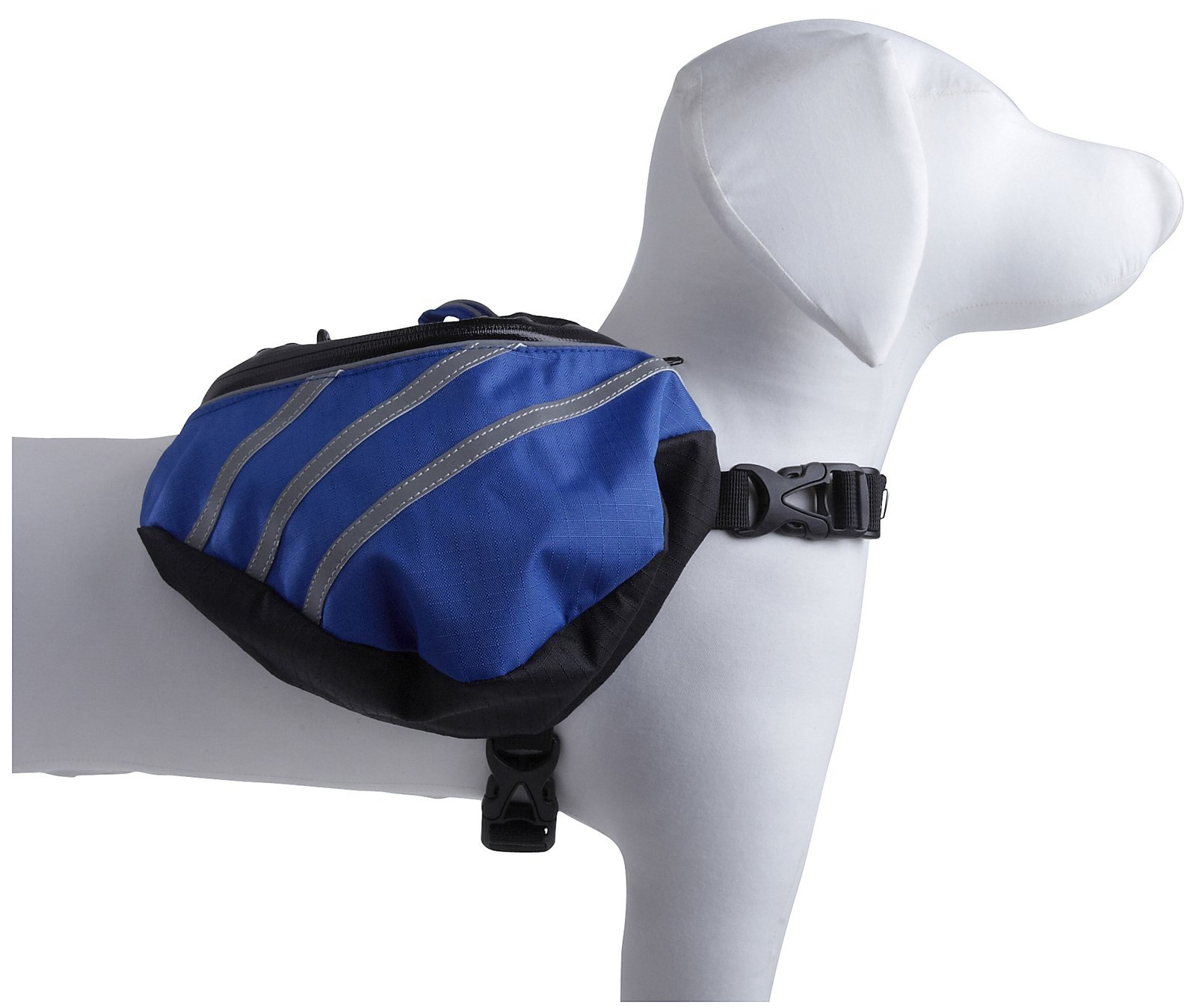 Pet Life Everest' DUPONT Waterproof Reflective Travel Fashion Designer Outdoor Camping Pet Dog Backpack Carrier, Large, Blue