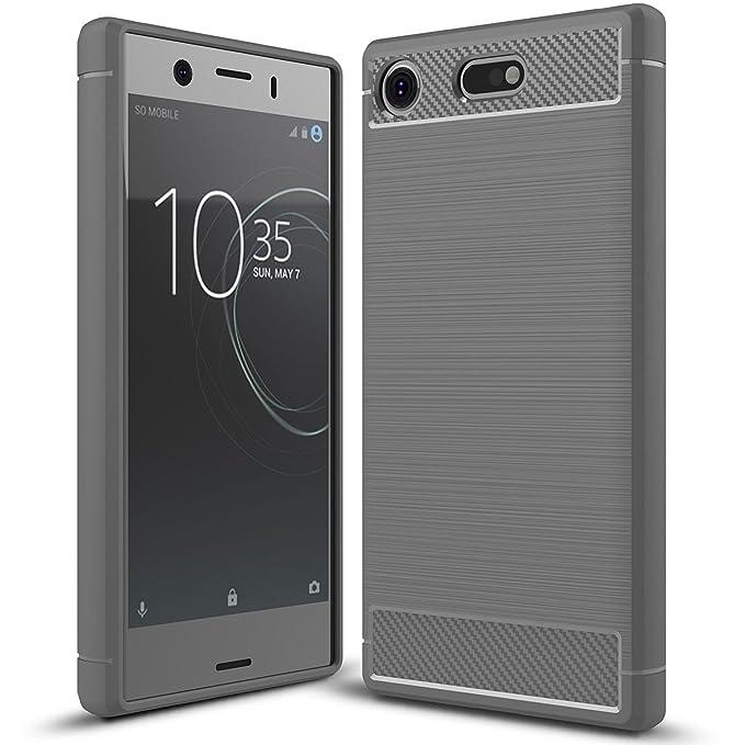 2 opinioni per Sony Xperia XZ1 Compact Cover, KuGi Protettiva Case Cover Custodia in silicone