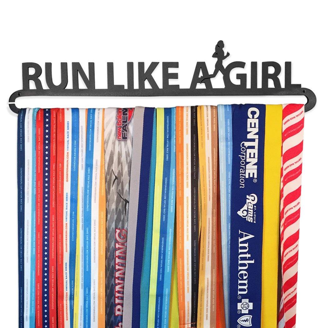 Gone For a Run | Runner's Race Medal Hanger | Run Like A Girl
