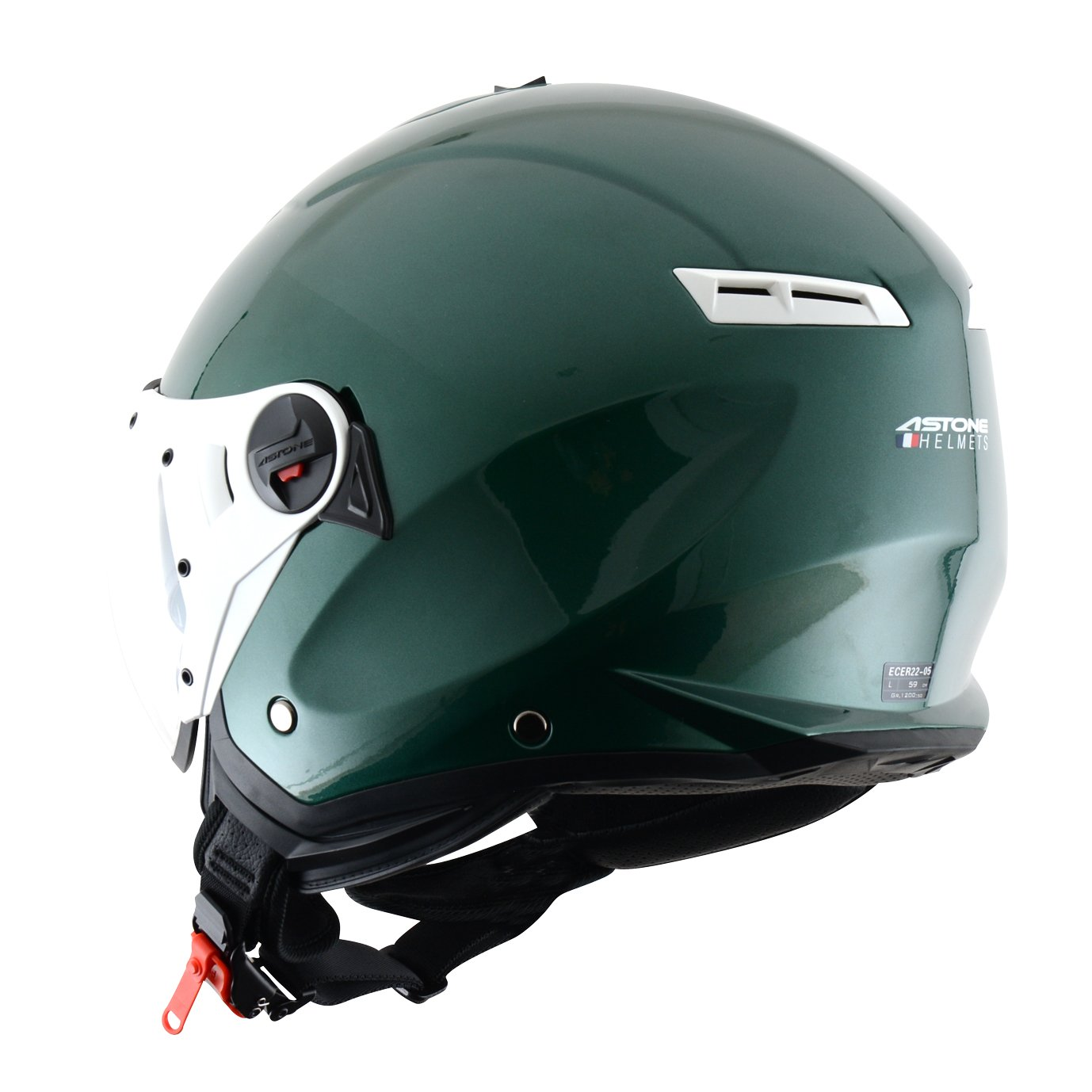 Amazon.es: Astone Helmets MINISPORT-MTIM Minijet Sport - Casco de motocicleta, Gris Mate, M