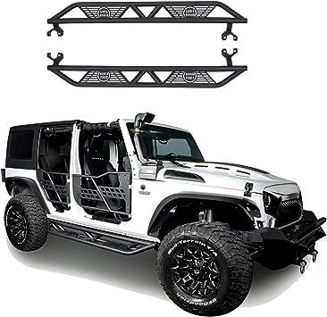 S//S Side Step Nerf Bars Running Board For 2007-2018 Jeep Wrangler JK 4 Door