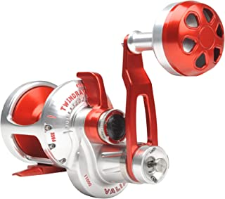 product image for Accurate Valiant BV2-1000L Reel - Left-Handed - Red/Silver