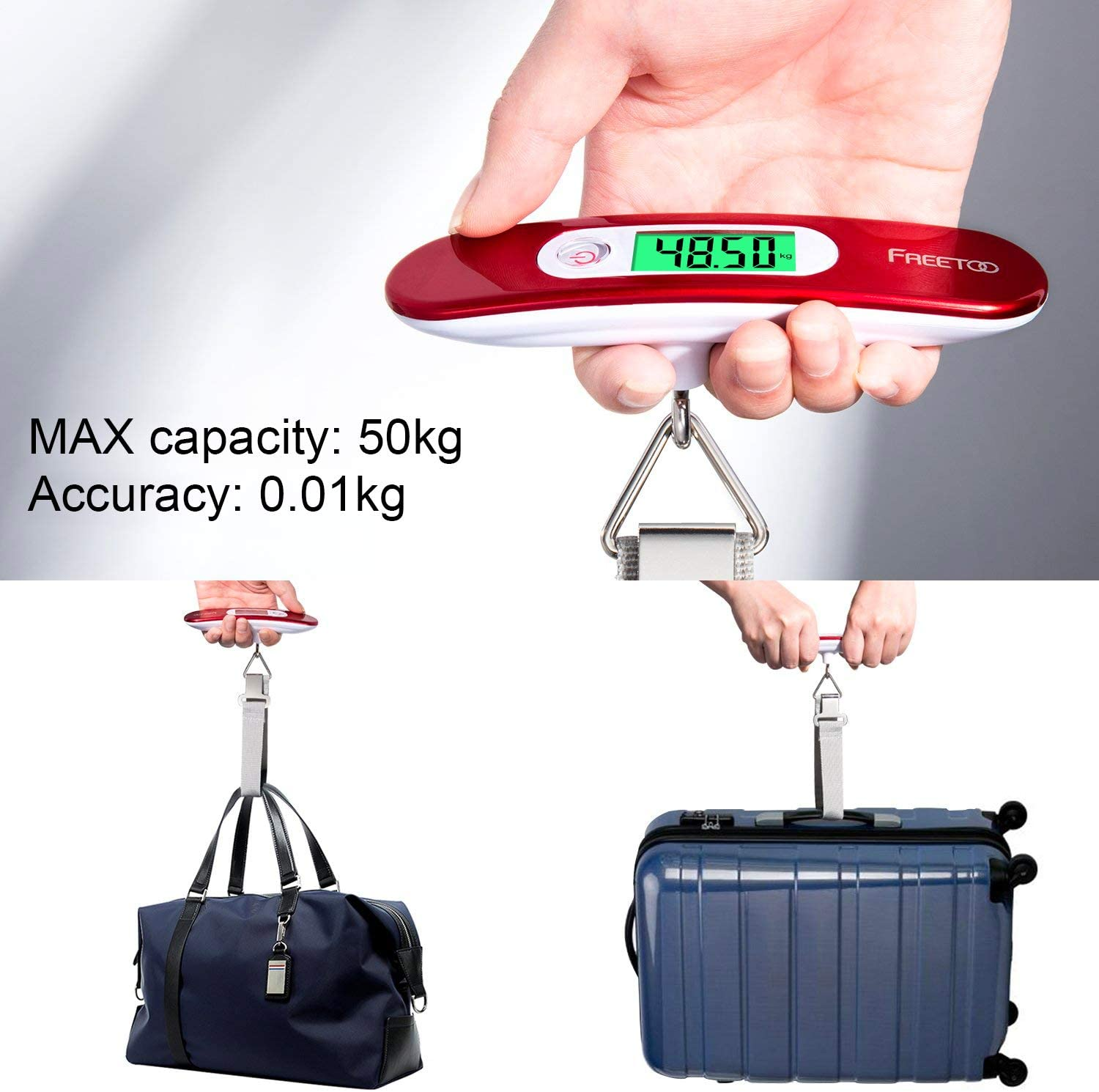 Portable Luggage Scale Digital Travel Scale Suitcase