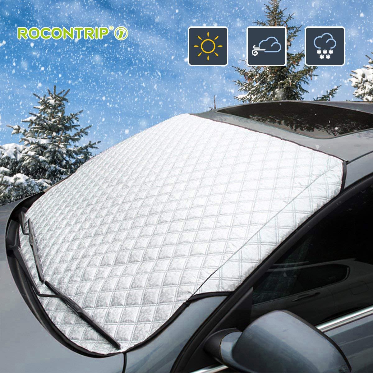 Windschutzscheibe Cover Protector wasserdichte Frostsicherung Schnee Sonne Schatten Displayschutzfolie