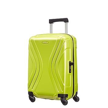 American Tourister Vivotec Spinner 55/20 Equipaje de Cabina, 38 cm, 36 L, Verde (Verde): Amazon.es: Equipaje