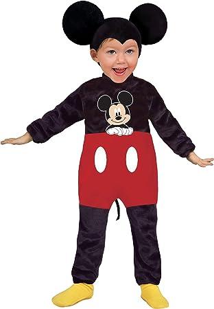 Ciao 11247.6-12 Disney - Disfraz de Mickey Disney 12-18 mesi negro ...