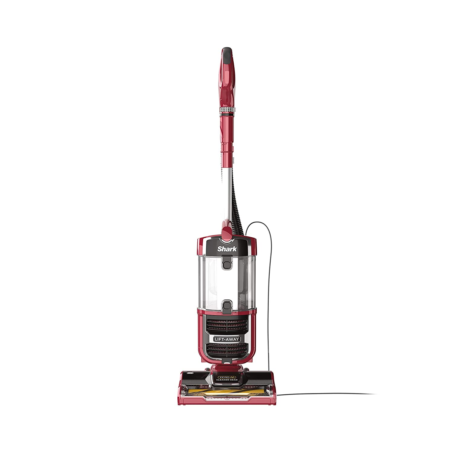 Shark Navigator Upright Vacuum with Lift-Away, Zero-M Anti-Hair Wrap Technology, Anti-Allergen + HEPA Filter and Swivel Steering (ZU561), Red Peony (Renewed)