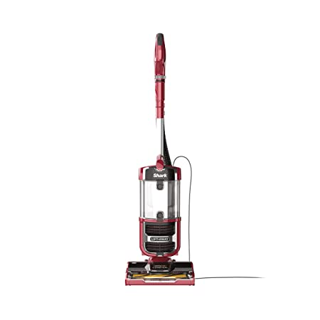 Shark Navigator Upright Vacuum with Lift-Away, Zero-M Anti-Hair Wrap Technology, Anti-Allergen HEPA Filter and Swivel Steering ZU561 , Red Peony Renewed
