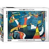 "Eurographics ""Joan Miro Hirondelle amour (Puzzle 1000p, multicolore)"