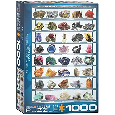 EuroGraphics Minerals of The World 1000 Piece Puzzle: Toys & Games