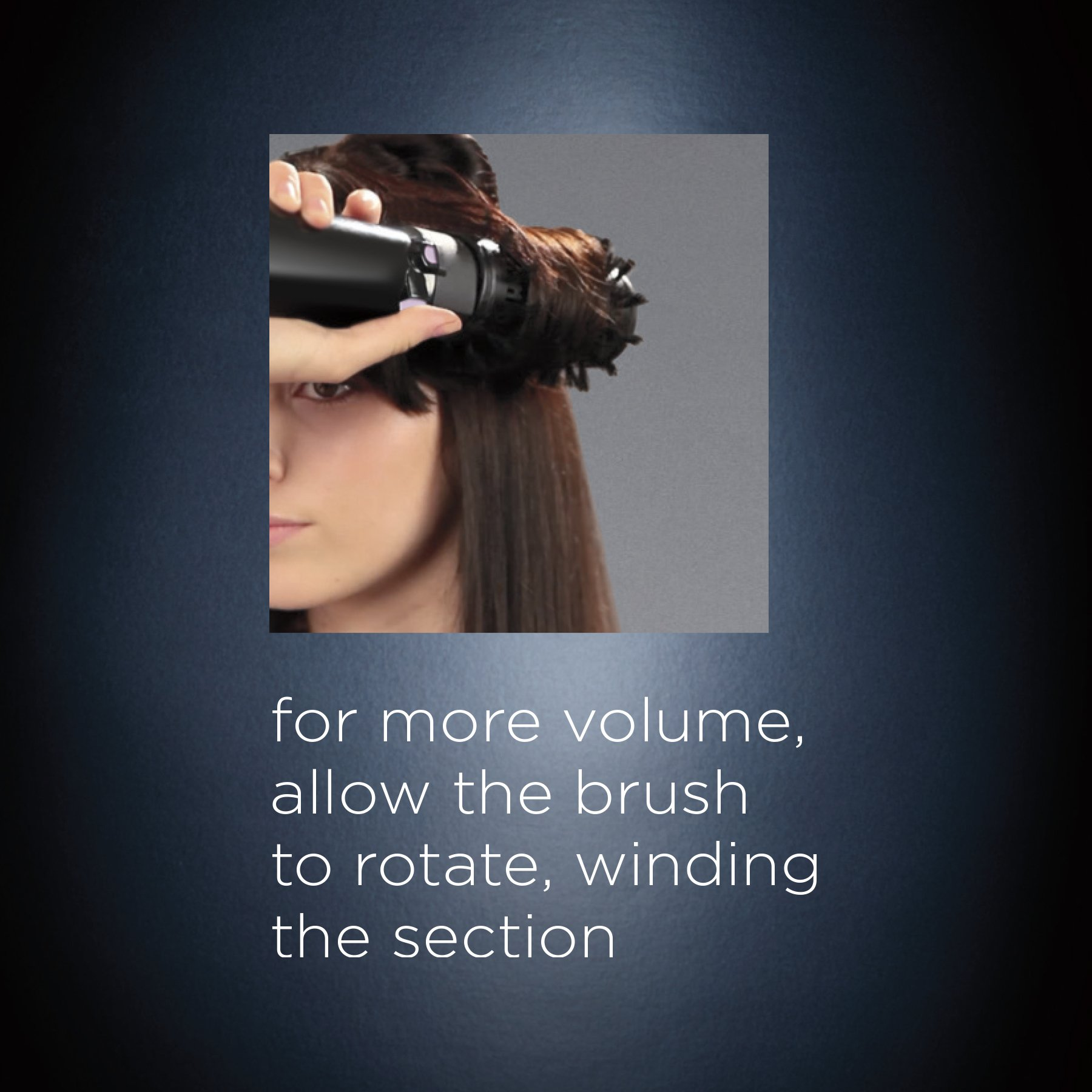 INFINITIPRO BY CONAIR Tourmaline Ceramic Hot Air Brush Styler + Paddle Brush Attachment; Get A Salon Blowout at Home by Conair (Image #8)