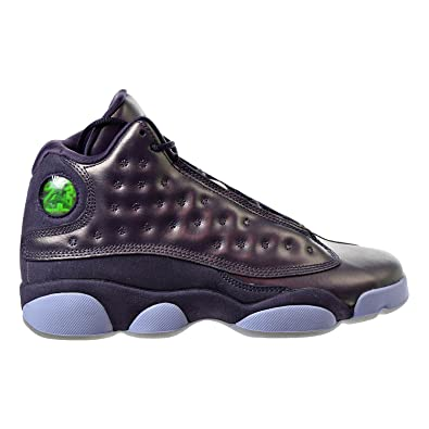 NIKE Big Kids Retro 13 Prem HC Dark Raisin/Hydrogen Blue (3.5 M US