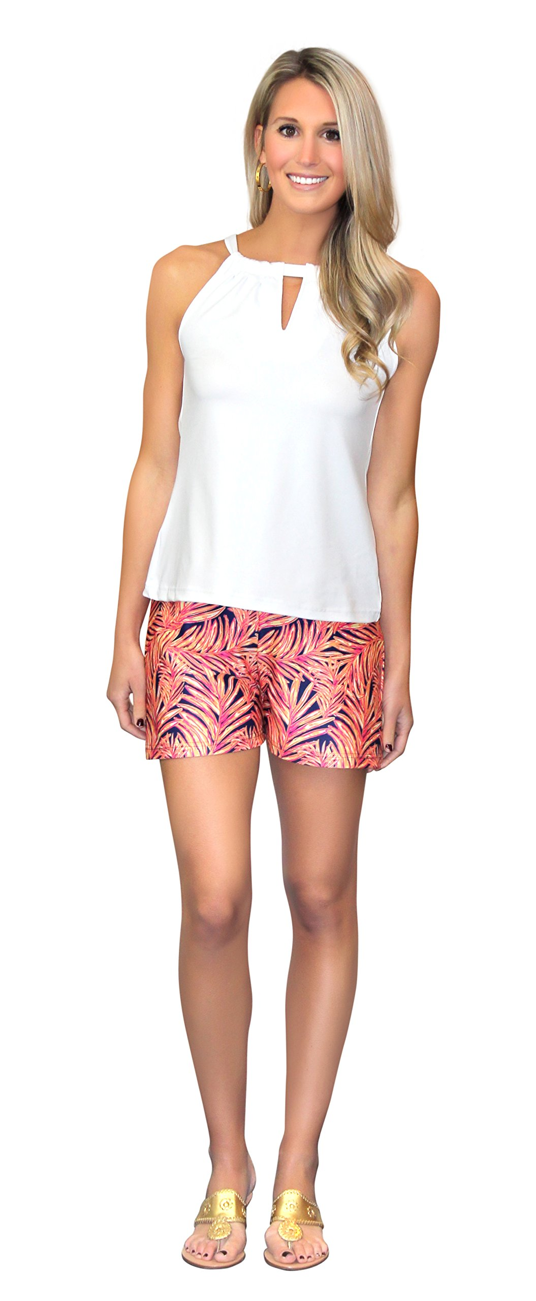 Bridget Shorts in In The Palm Of My Hand (L) by Kaeli Smith