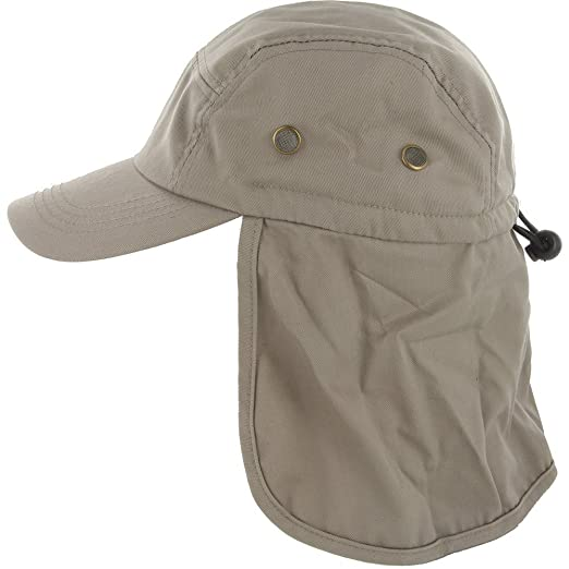 86047db46a8 DealStock Fishing Cap with Ear and Neck Flap Cover - Outdoor Sun Protection