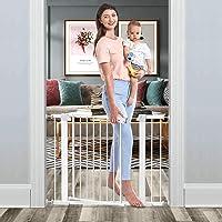 Tokkidas Puerta de seguridad de cierre automático, puerta de bebé de 29.5 a 40.0 pulgadas, fácil de caminar a través de…