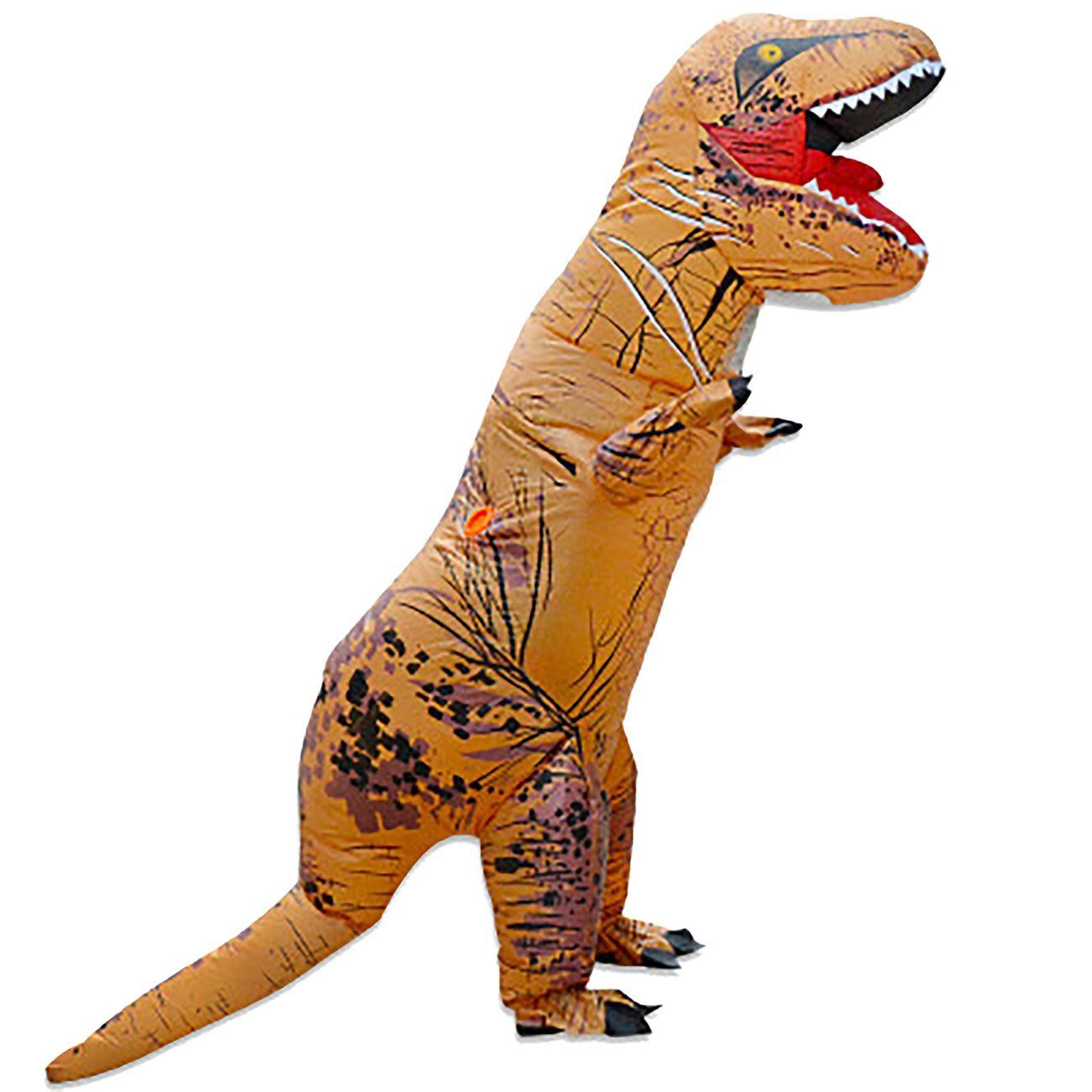 THEE Halloween Inflatable T-Rex Dinosaur Blow Up Dress Up Cosplay Costume Adult/Child