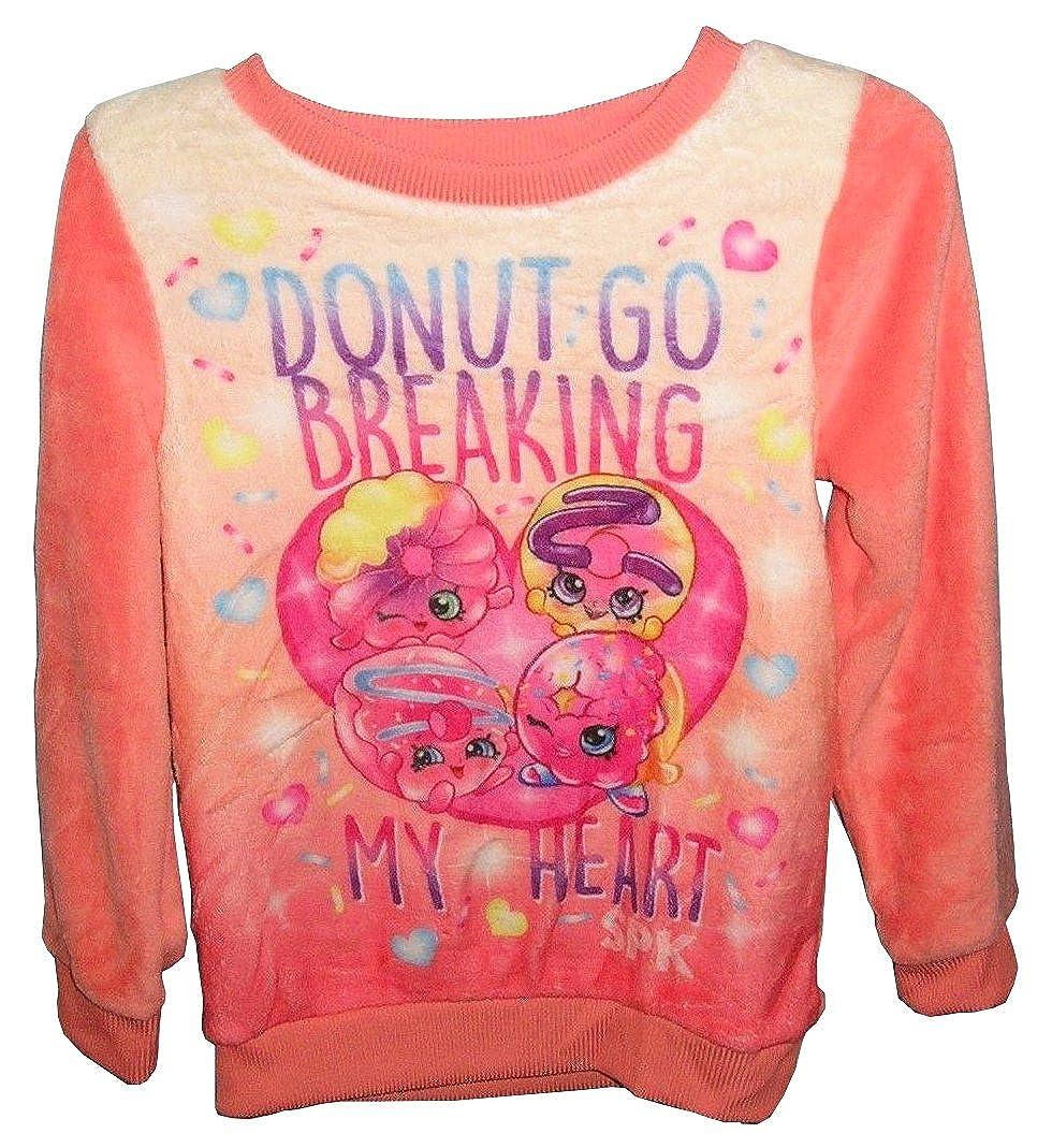 Shopkins Girls Donut Go Breaking My Heart Minky Sweatshirt
